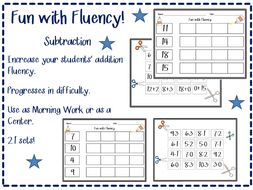 Subtraction Practice for Primary Grades
