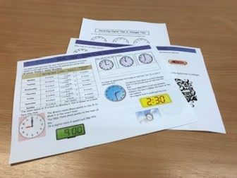 Functional Skills Maths - Analogue Time - Going to the Hairdressers