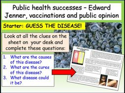 Smallpox + Edward Jenner Edexcel