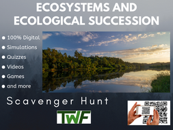 Ecosystems and Ecological Succession Scavenger Hunt Activity