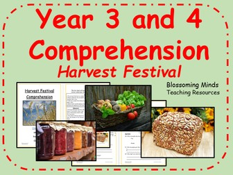 Year 3 and 4 comprehension - Harvest Festival