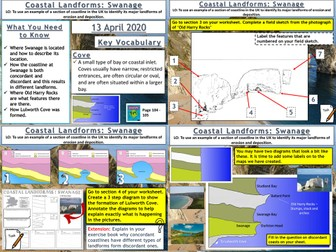 Coasts: Coastal Landforms at Swanage