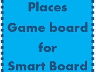 Places Game board for Smartboard