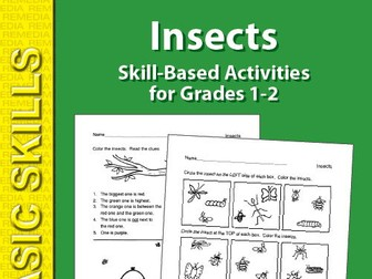 Insects: Thematic Skill-Based Activities for Grades 1-2