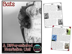 Differentiated Nonfiction Unit: Bats