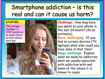 Smartphone / Screen Addiction - Safer Internet Day