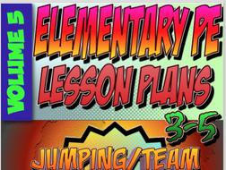 K-5 Physical Education Lesson Plan Volume 5 Bundle