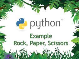 Beginning Python Programming - Rock, Paper, Scissors