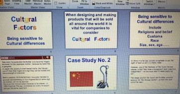 Cultural factors PowerPoint new GCSE AQA D&T design and Technology