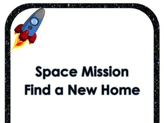 Journey to Space Creative Topic