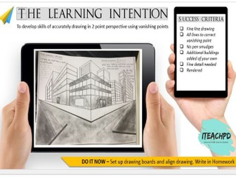 Lesson template : engaging visuals for your classroom