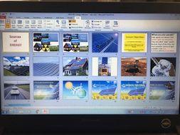 Solar Power Powerpoint - new GCSE AQA Design and Technology D&T GCSE