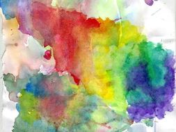 Art: Introducing Water Colours Lesson