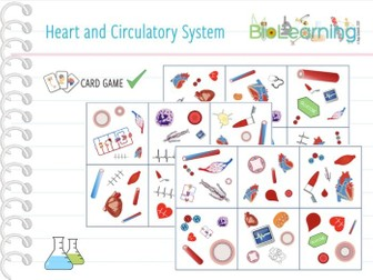 Heart and Circulatory System - Card Game (KS3/KS4)