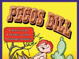 Pecos Bill: Read & Color