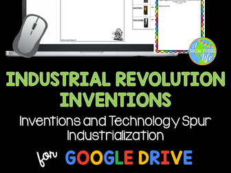 Industrial Revolution Technology and Inventions in England