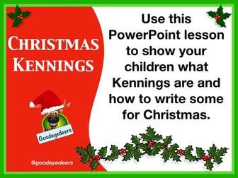 Christmas Literacy - Christmas Kennings