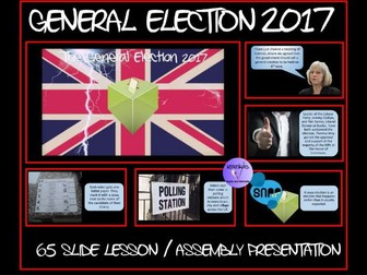 The General Election 2017 - Presentation