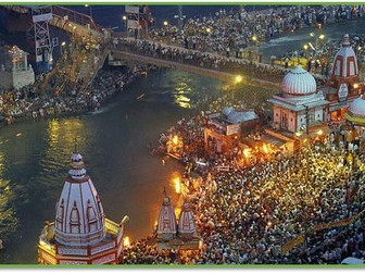 KS3 RE Expressions of Faith - Lesson 3 - What holy places are there in India?