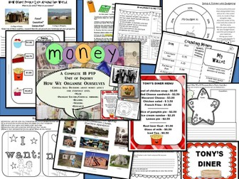 Decisions About Money A Complete IB PYP Unit of Inquiry