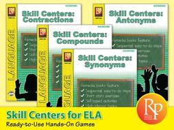 Skill Centers: ELA Bundle
