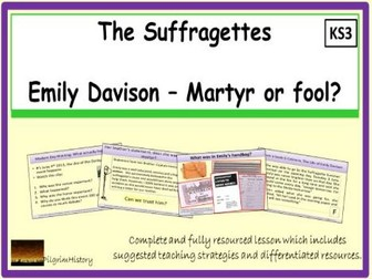 Emily Davison - Martyr or Fool?