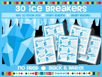 30 Back to School Ice Breakers