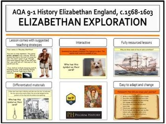 Elizabethan exploration and the navy