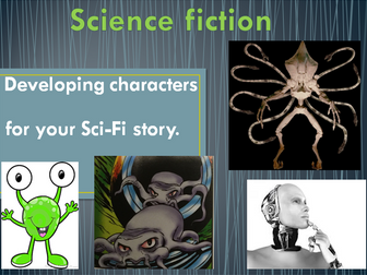 Science Fiction writing - Developing character descriptions for a Science Fiction story