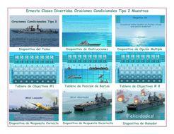 Conditional-Sentences-Type-2-Spanish-PowerPoint-Battleship-Game.pptx