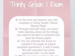Grade 1 Music Theory Week 7