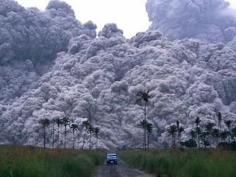 A Level; volcanoes