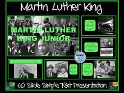 Martin Luther King Presentation