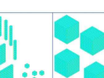 Comparing numbers beyond 1000, differentiated, dienes