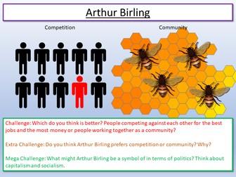 An Inspector Calls Arthur Birling