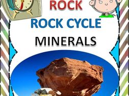 Rock, Rock Cycle and Minerals _ A Unit Plan with Worksheets