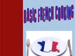 Basic French Cooking Workbook