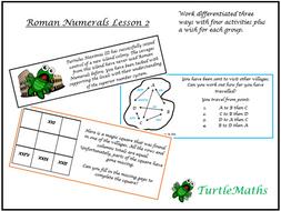 TurtleMaths Roman Numerals Lesson 2 - Place Value