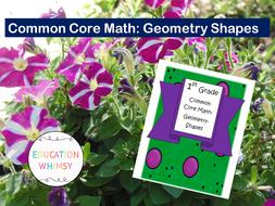 1st Grade Math Geometry: Shapes