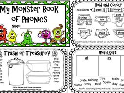 Phonics Screening Check 30 page Revision