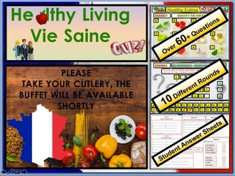 FRENCH GCSE Healthy Eating Quiz