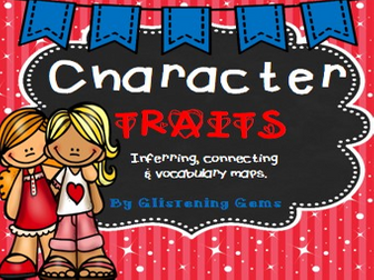 Character Traits Activity Pack (51 pages)
