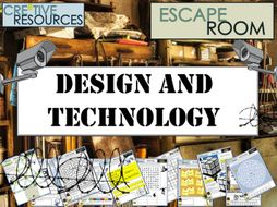 D&T Design Technology Escape Room