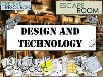 D&T Design Technology Escape Room