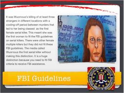 Aileen Wuornos Presentation ~ Serial Killer + Quiz + Flashcards = 61 Slides