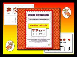 Picture Rhythm Cards - CHINA