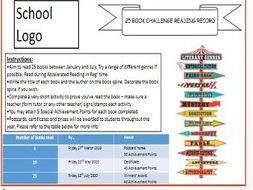 KS3 English Tutor Time Booklet (Reading Challenge)