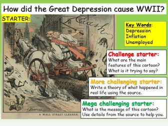 The Great Depression + Germany