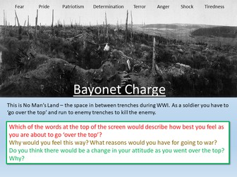 Bayonet Charge Power and Conflict