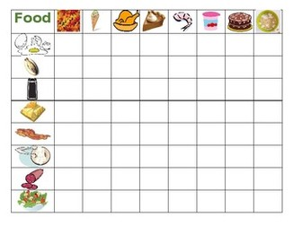 Food Connect 4 game